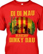 Di di mau beaucoup dinky dau vietnam veteran shirt