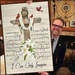 Mercyme i can only imagine poster canvas for fans