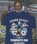 Right i am a dallas cowboys fan now and forever best players coach signed for fan