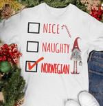 Dwarf nice naughty norwegian lovers shirt Tshirt Hoodie Sweater