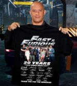 Fast & furious 20 years casts signed for fans