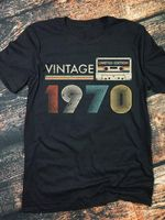 Vintage limited edition 1970 tshirt