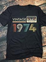 Vintage limited edition 1974 tshirt