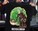 Rick and morty mashup the mandalorian for fans