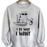 Cat i do what i want sweater