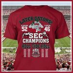 Later gators sec champions alabama crimson tide roll for fans