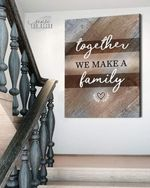 Together we make a family poster