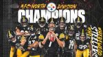 Pittsburgh steelers AFC north Division champions players