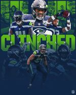 Seatle Seahawks Clinched