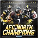 Pittsburgh steelers AFC north champions