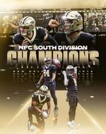 New Orleans Saints NFC south division champions 2020