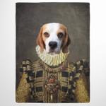 The Dame renaissance costume potrait Custom Pet