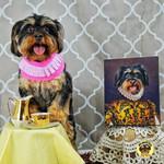 The Golden Queen Custom Pet