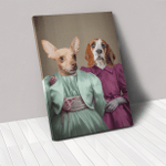 The Sisters in purle green costume Custom Pet
