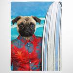 The Surfer Hawaii costume Custom Pet