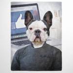 The mark zuckerberg Custom Pet
