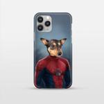 The Spiderpet spiderman costume Custom Pet