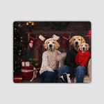 the family christmas three Custom Pets Custom Pet