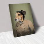 The Female Naval Officer Custom Pet