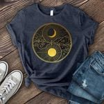 Yin and yang moon son for lovers shirt