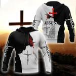 Jesus is my god my king lord savior god lovers 3d printed hoodie
