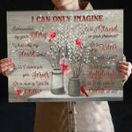 Mercyme i can only imagine lyrics cardinals willow poster