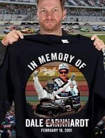 In memory of dale earnhardt legend racer signed retro for fan