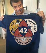 42 life universe everything science lovers shirt