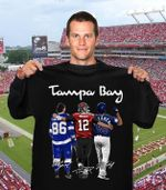 Tampa bay legend players Nikita Kucherov Tom Brady Randy Arozarena signed for fan