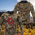 Tampa bay buccaneers camouflage nfl logo 3d printed hoodie