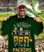Never underestimate a woman who understands football and loves green bay packers best players signed for fan