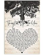 Staind tangled up in you heart lyrics typography for fan poster
