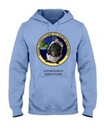 Dachshund good things come to those who wait ufo research association hoodie