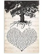 Aerosmith angel heart lyrics typography for fan poster