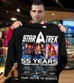 Star trek 55 years main casts signed for fan thank you for memories