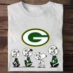 Green bay packers snoopy charlie browns for fan