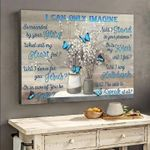 Mercyme i can only imagine lyrics butterfly poster