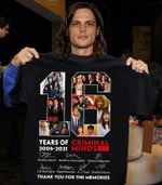 Criminal minds 16 years anniversary main casts signed for fan