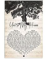Billy joel you're my home heart lyrics typography for fan poster