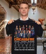 Chicago fire casts signed for fan thank you for memories for fan