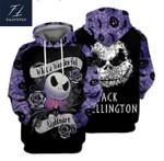 Jack skellington what a wonderful nightmare 3d printed hoodie