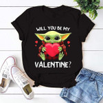 Yoda will you be my valentine ?