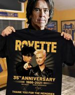 Roxette 35th anniversary signatures for fan thank you for memories