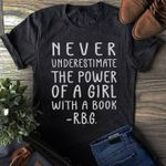Never underestimate the power of a girl with a book