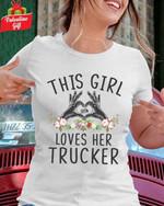 This girl loves her trucker tshirt