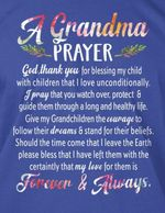 A grandma prayer god thank you for blessing my child that i love unconditionally shirt