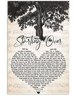 Starting over chris stapleton lyric heart shape for fans
