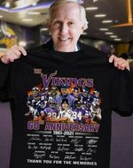 The minnesota vikings 60th anniversary signatures for fans