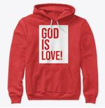 God is love hoodie