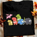 Dinosaurs art tshirt